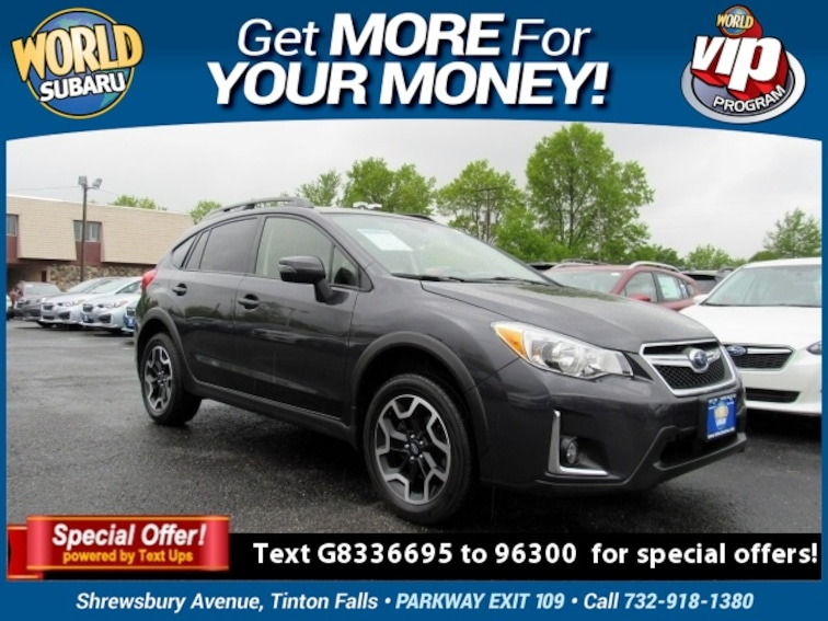 Used 2016 Subaru Crosstrek 2.0i Limited SUV JF2GPANC7G8336695 For Sale in Tinton Falls, NJ