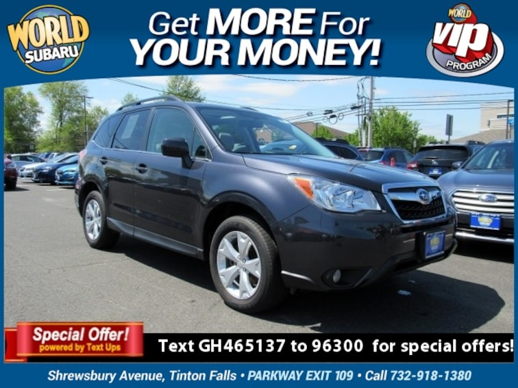 2016 Subaru Forester 2.5i Limited SUV JF2SJAHC5GH465137