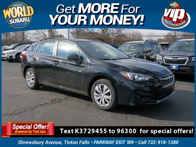 New 2019 Subaru Impreza For Sale in Tinton Falls, NJ | Near Middletown, Red  Bank, Asbury & Long Branch, NJ | VIN# 4S3GTAA62K3729455