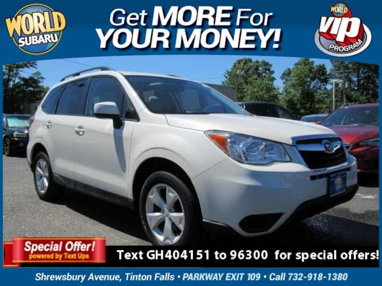 0867d5dc71c Used 2016 Subaru Forester 2.5i Premium SUV JF2SJADC5GH404151 For Sale in  Tinton Falls, NJ