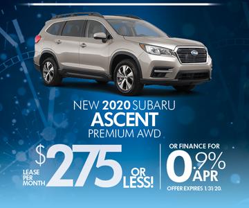 Subaru Dealers Nj >> 2020 Subaru Ascent Lease Special From World Subaru Subaru