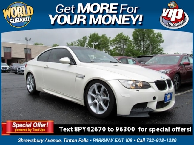 2008 BMW M3 Base Coupe