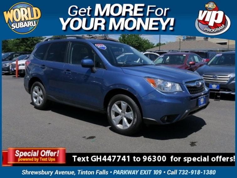 Used 2016 Subaru Forester 2.5i Limited SUV JF2SJAHC7GH447741 For Sale in Tinton Falls, NJ