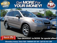 Certified Pre-Owned 2016 Subaru Forester 2.5i Touring SUV JF2SJAVCXGH509301 for Sale in Tinton Falls, NJ