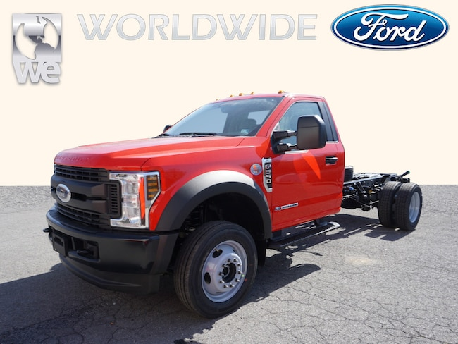 2019 Ford F550 Super Duty XL Cab & Chassis