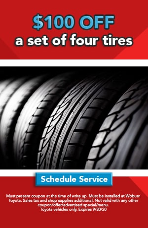 $100 Instant Rebate on Select Tires