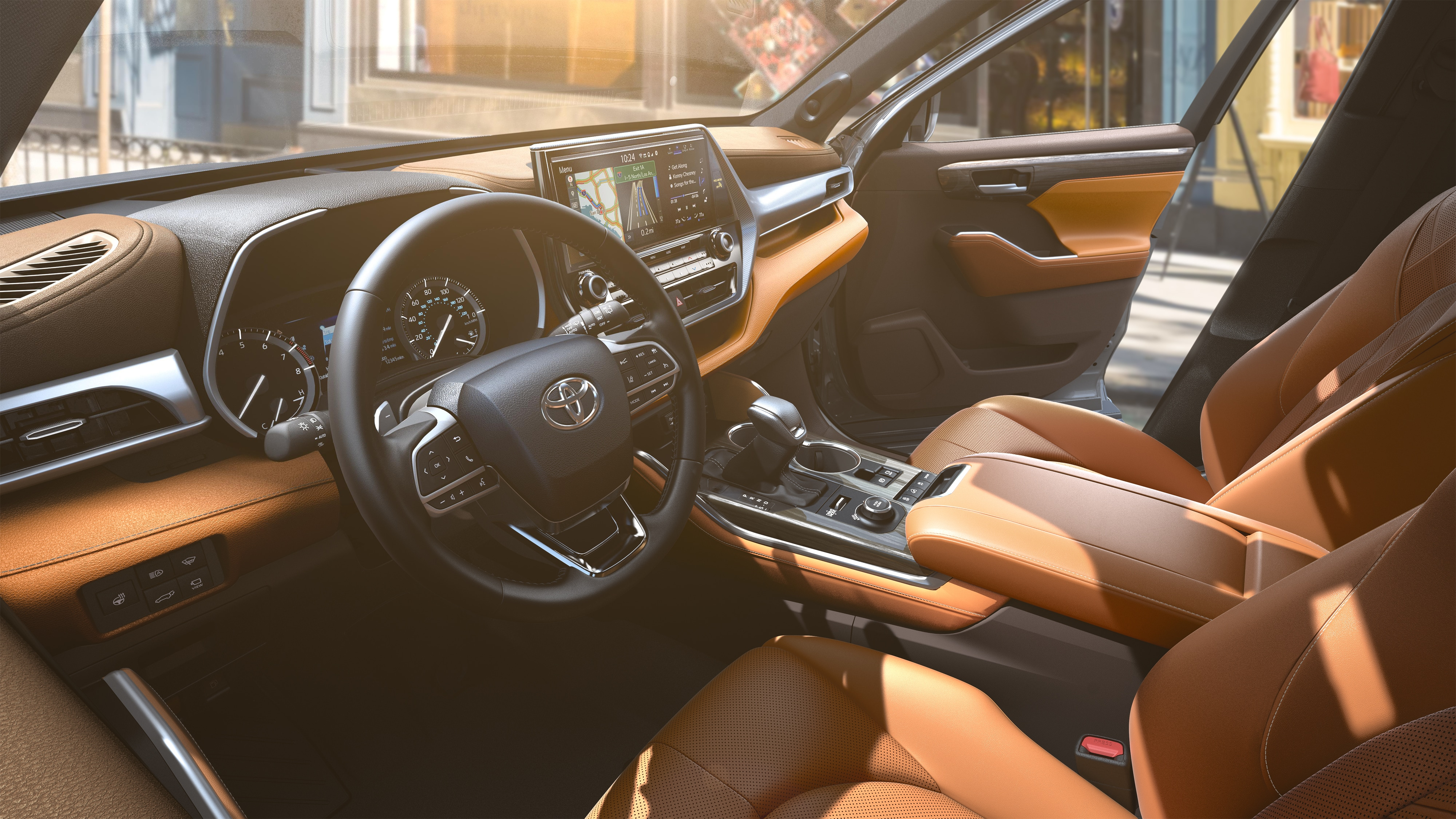 2020 Toyota Highlander Leather Seating