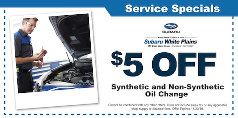 $5.00 Off Synthetic and Non-Synthetic Oil Change