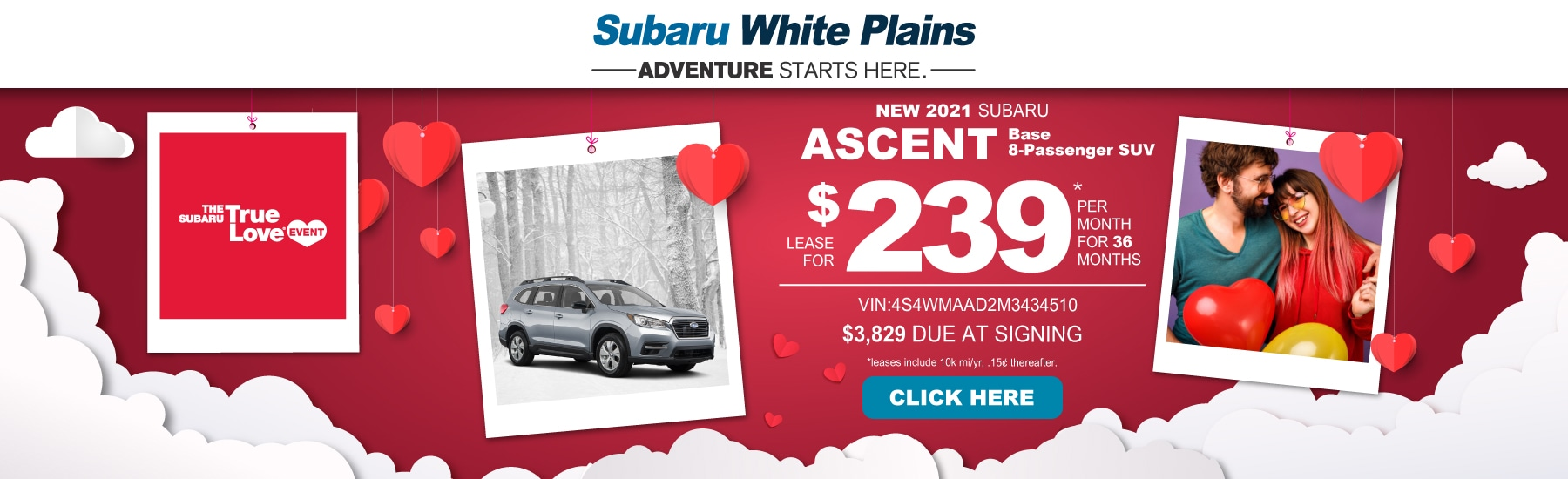 Subaru Ascent Lease Image