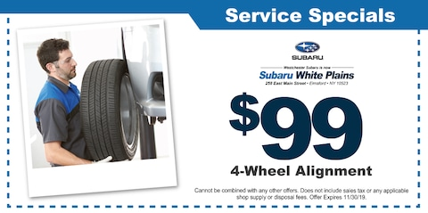 $99 4-Wheel Alignment