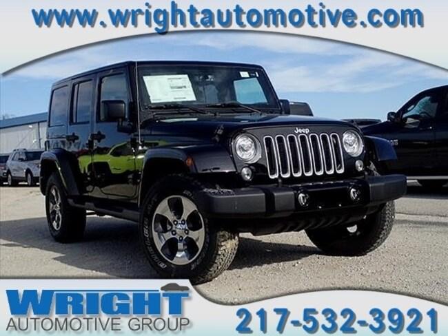 New 2017 Jeep Wrangler JK UNLIMITED SAHARA 4X4 Sport Utility for sale in Hillsboro IL