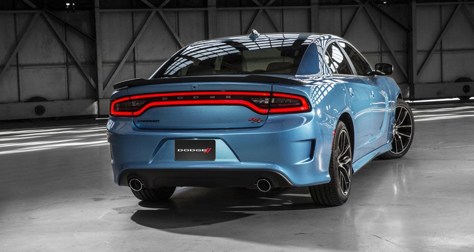 2016 Dodge Charger Aggressive Design