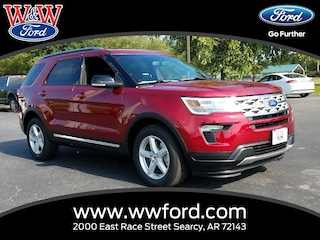 New 2018 Ford Explorer XLT 1FM5K7D80JGC12118 for sale in Searcy, AR at W & W Ford