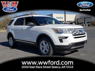 New 2019 Ford Explorer XLT 1FM5K7DH6KGA44759 for sale in Searcy, AR at W & W Ford