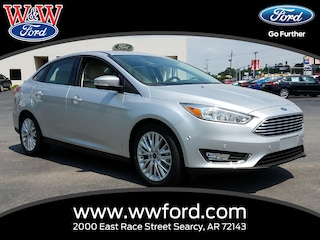 New 2018 Ford Focus Titanium 1FADP3J23JL308073 for sale in Searcy, AR at W & W Ford