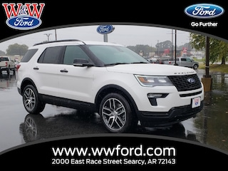 New 2019 Ford Explorer Sport 1FM5K8GT1KGA04188 for sale in Searcy, AR at W & W Ford