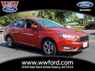 New 2018 Ford Focus SE 1FADP3F24JL275321 for sale in Searcy, AR at W & W Ford