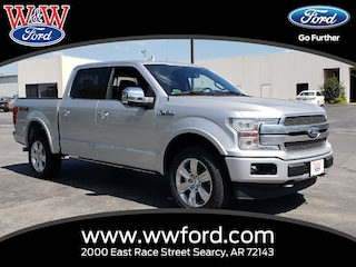 New 2018 Ford F-150 Platinum 1FTEW1E58JFE07688 for sale in Searcy, AR at W & W Ford