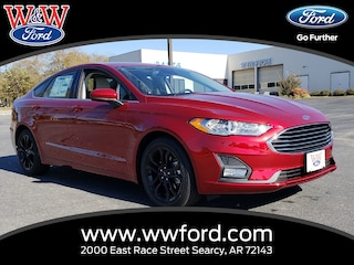 New 2019 Ford Fusion SE 3FA6P0HD6KR127597 for sale in Searcy, AR at W & W Ford