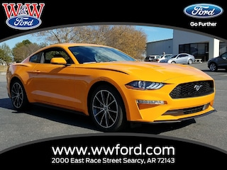 New 2018 Ford Mustang Ecoboost 1FA6P8TH3J5101999 for sale in Searcy, AR at W & W Ford