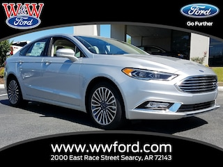 New 2017 Ford Fusion SE 3FA6P0HD9HR346904 for sale in Searcy, AR at W & W Ford