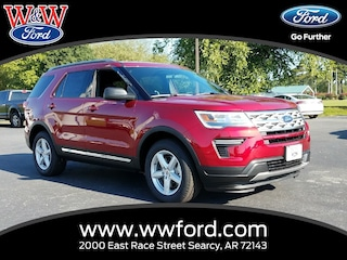 New 2018 Ford Explorer XLT 1FM5K7DH1JGC23029 for sale in Searcy, AR at W & W Ford