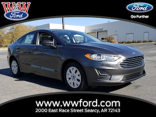 New 2019 Ford Fusion S 3FA6P0G7XKR127596 for sale in Searcy, AR at W & W Ford
