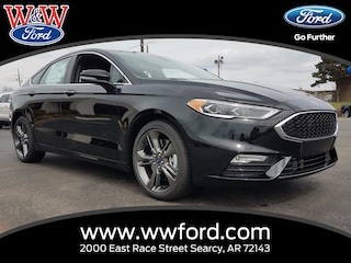New 2017 Ford Fusion Sport 3FA6P0VP8HR332880 for sale in Searcy, AR at W & W Ford