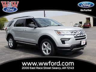 New 2018 Ford Explorer XLT 1FM5K7D83JGC63595 for sale in Searcy, AR at W & W Ford
