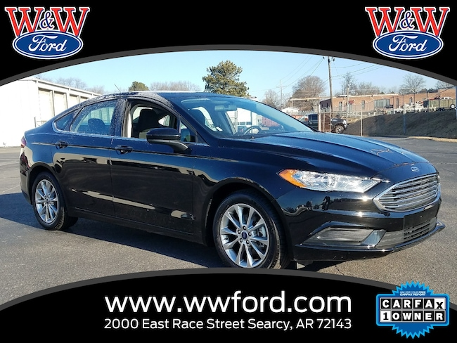 Used 2017 Ford Fusion SE for sale in Searcy AR
