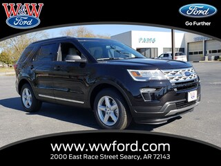 New 2019 Ford Explorer XLT 1FM5K7D8XKGA36955 for sale in Searcy, AR at W & W Ford
