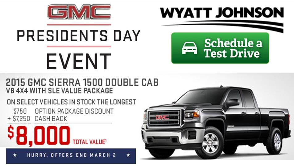 Wyatt Johnson Gmc >> Wyatt Johnson Buick GMC | Used GMC, Buick dealership in Clarksville, TN 37040