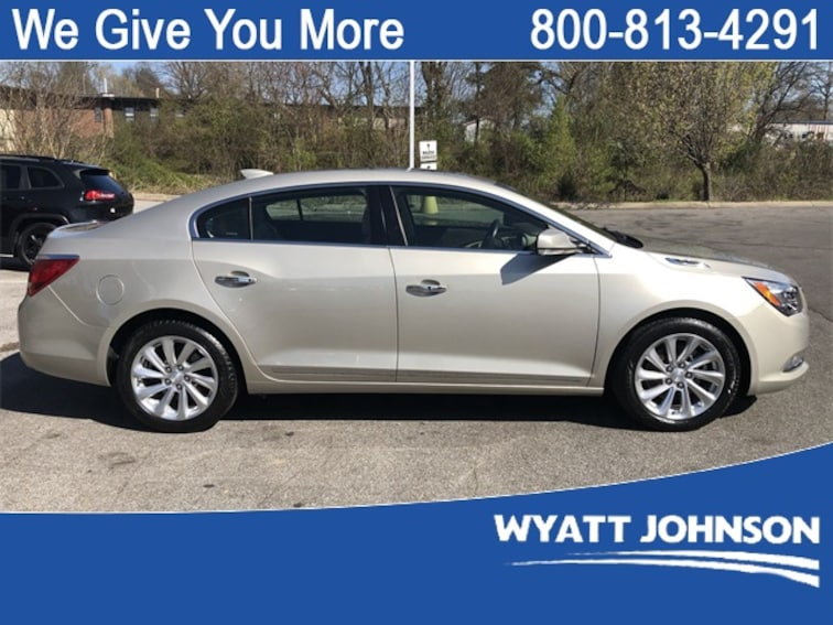 Used 2016 Buick Lacrosse Leather Group Sedan for sale in Clarksville, TN
