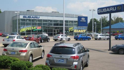 new 2018 subaru used car dealer clarksville tn wyatt johnson subaru. Black Bedroom Furniture Sets. Home Design Ideas