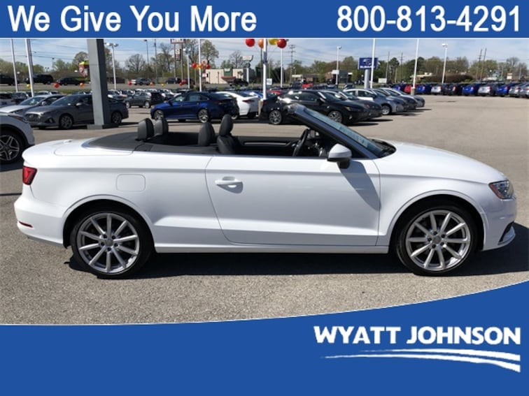 Used 2016 Audi A3 2.0T Premium Convertible for sale in Clarksville, TN