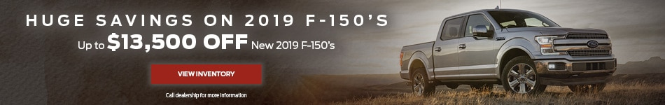 Savings on F-150s