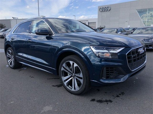 New 2019 Audi Q8 3.0T Premium Plus SUV for sale in Wilkes-Barre, PA
