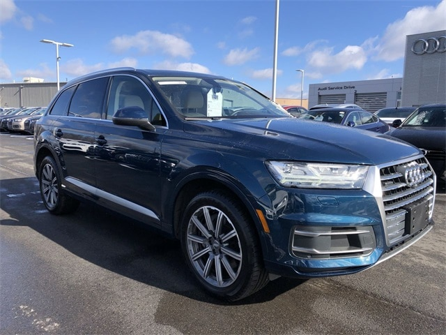 Used 2018 Audi Q7 For Sale In Larksville Pa Vin Wa1lhaf77jd034439