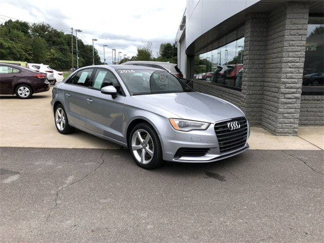 Used 2016 Audi A3 2.0T Premium Sedan for sale in Wilkes-Barre, PA