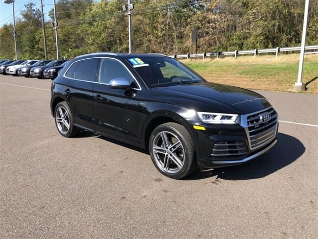 used 2018 Audi SQ5 3.0T Prestige SUV for sale in larksville-pa