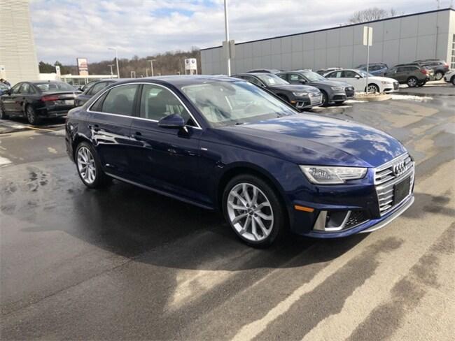 New 2019 Audi A4 2.0T Premium Sedan for sale in Wilkes-Barre, PA