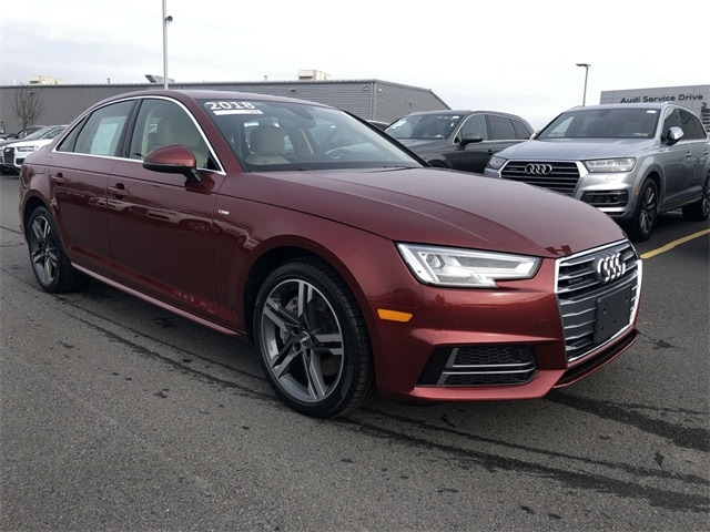 Certified Pre-owned 2018 Audi A4 2.0T Premium Plus Sedan for sale in Larksville, PA