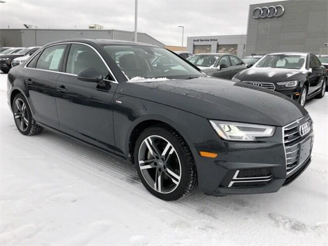 Used 2018 Audi A4 2.0T Premium Sedan Kingston
