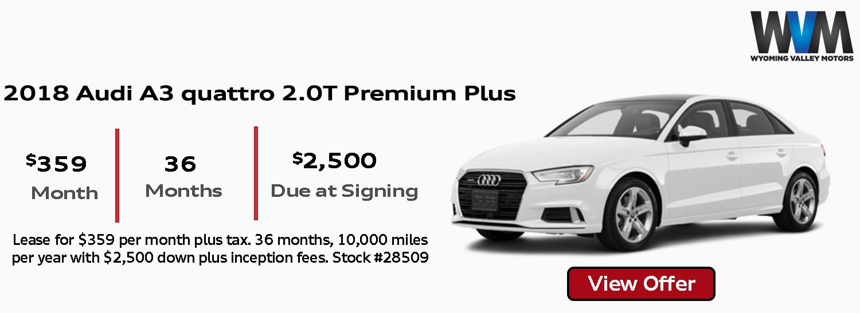 Wyoming Valley Motors | New Volkswagen, Kia, Audi, Mazda dealership