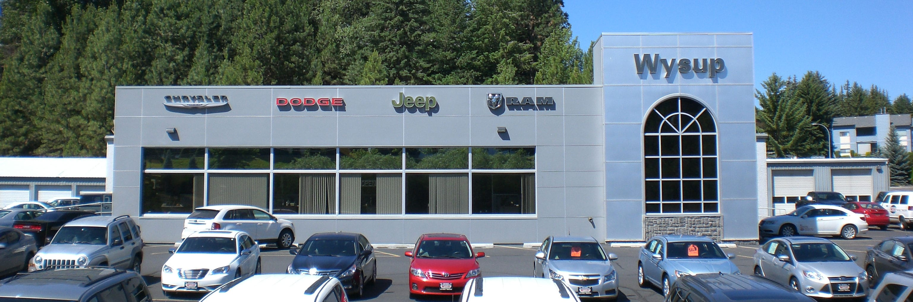 Wysup Chrysler Jeep Dodge Ram Dealership Providing Pullman WA - Chrysler jeep dodge dealer