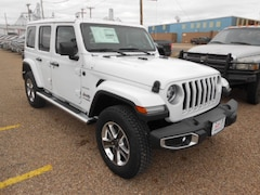 New 2018 Jeep Wrangler UNLIMITED SAHARA 4X4 Sport Utility in Dalhart, TX