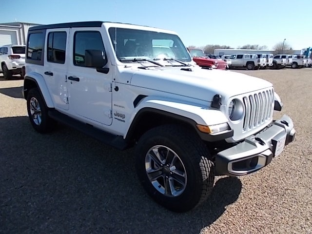 Featured Used 2018 Jeep Wrangler Sahara SUV for sale in Dalhart, TX