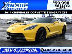 2014 Chevrolet Corvette Stingray 6.2L V8 STINGRAY Z51 Coupe