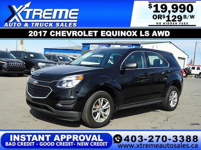 2017 Chevrolet Equinox LS w/Backup Camera SUV