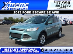 2013 Ford Escape SE w/Leather+Panoramic Roof+Navi SUV